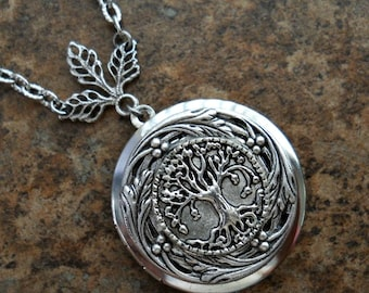 Family Tree Locket, Newly Revised Exclusive Design by Enchanted Lockets