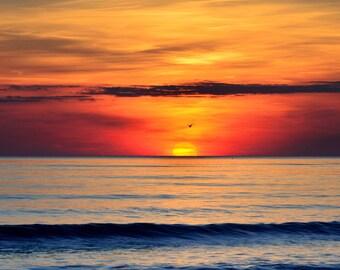 Henne Strand Sunset - Fine Art Landscape Photography Print