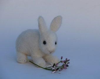 Needle felted little bunny