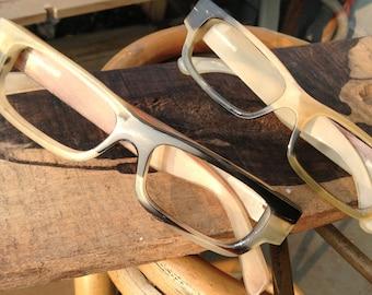 OX horn TAKEMOTO handmade eyeglasses MJX1401  customize RX glasses