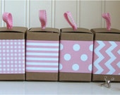 Pink Paper Ribbon in Pattern of Your Choice