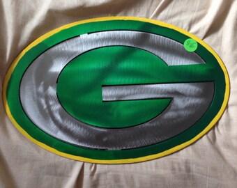 Green Bay Packer 'G' Metal Art