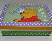 Winnie Keepsake Box Ladybug Personalized w Birthdate