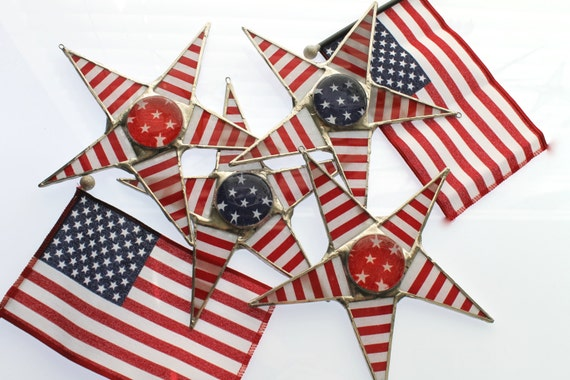 Stripes and Stars- 4th of July star, Wonder Woman star, red stars or stripes, blue stars or stripes, choose your combination