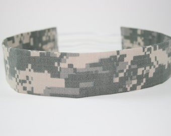 ACU Army Adult Headband Military Digital Camo