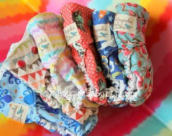 Custom one size OS PUL cloth diaper cover custom fabric choices