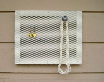Earring holder, jewelry storage or Magnetic photo display, accessory holder, Jewelry Display, Memo board
