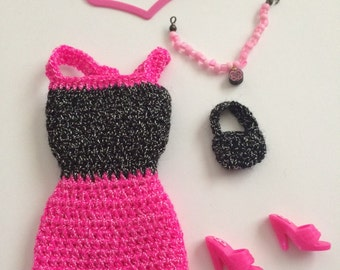 Barbie clothes set
