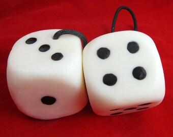 Welcome To PAIR-A-DICE - Dice SOAP on a Rope - Champagne Scent - Vegan