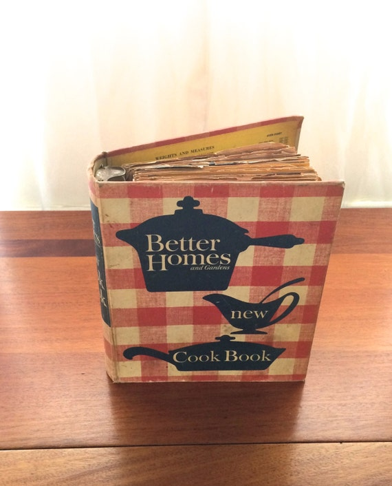 Vintage better homes and gardens new cookbook binder with - Vintage better homes and gardens cookbook ...