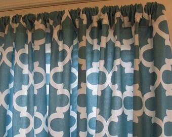 Window Curtain Premier Prints Pair 25 X 84 White By