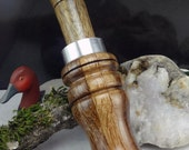 "Duck Call Made From Philippine Oak   double Reed  it measures 61/4""  X1"" 3/4""#223"