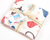 """Roundup! 5"""" Squares Charm Pack by Samantha Walker for Riley Blake, 21 pieces"""