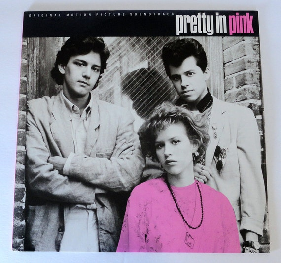 "Rare ""Pretty in Pink"" Vinyl Soundtrack (1986) - Very Good Condition"