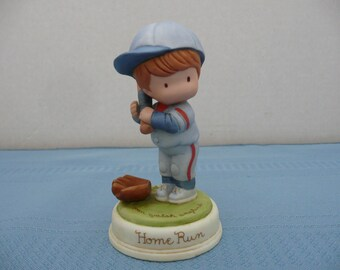 "Joan Walsh Anglund Collection for Avon ""Home Run"" Porcelain Figurine"