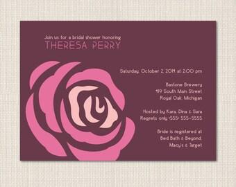 Rosie Bridal Shower Invitations - DEPOSIT
