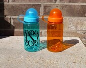 SALE - Monogram Water Bottle - Sports Team Bottle
