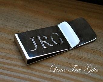 Engraved Money Clip - Groomsmen Gift or Graduation