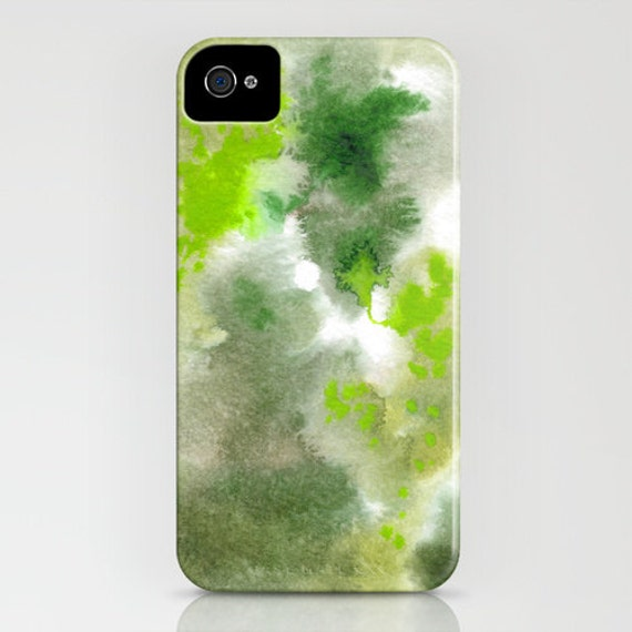 Camo Phone Case  - Woodland Forest Painting - Designer iPhone Samsung Case