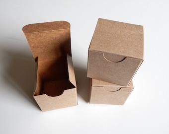 "15 - 2x2x2"" Kraft Gift Boxes"
