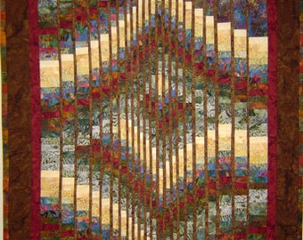 Meadow Melody Wall Art Quilt