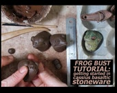 INSTANT DOWNLOAD: PDF Frog Tutorial Excerpt from Direct-Sculpting Master Class