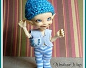 Winter Fairy Vest, hat and pants for Realpuki