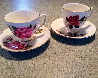 Roses for Mom teacups