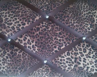 "Pin Board/Notice Board ""Leopard Animal Print"""