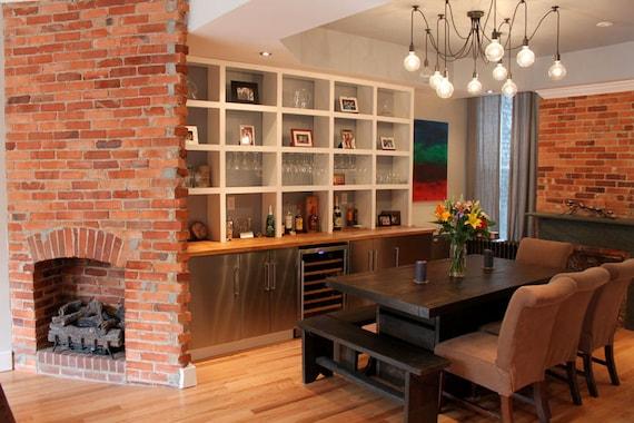 7 foot double pedestal dining room set