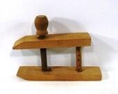 Vintage Nautical Wood Clamp