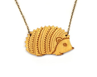 Woodland Hedgehog Necklace
