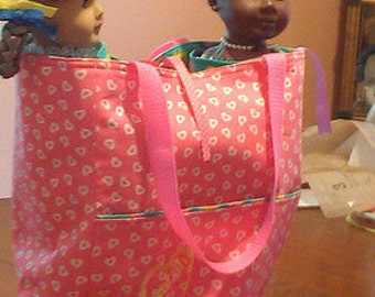 Double Doll Tote