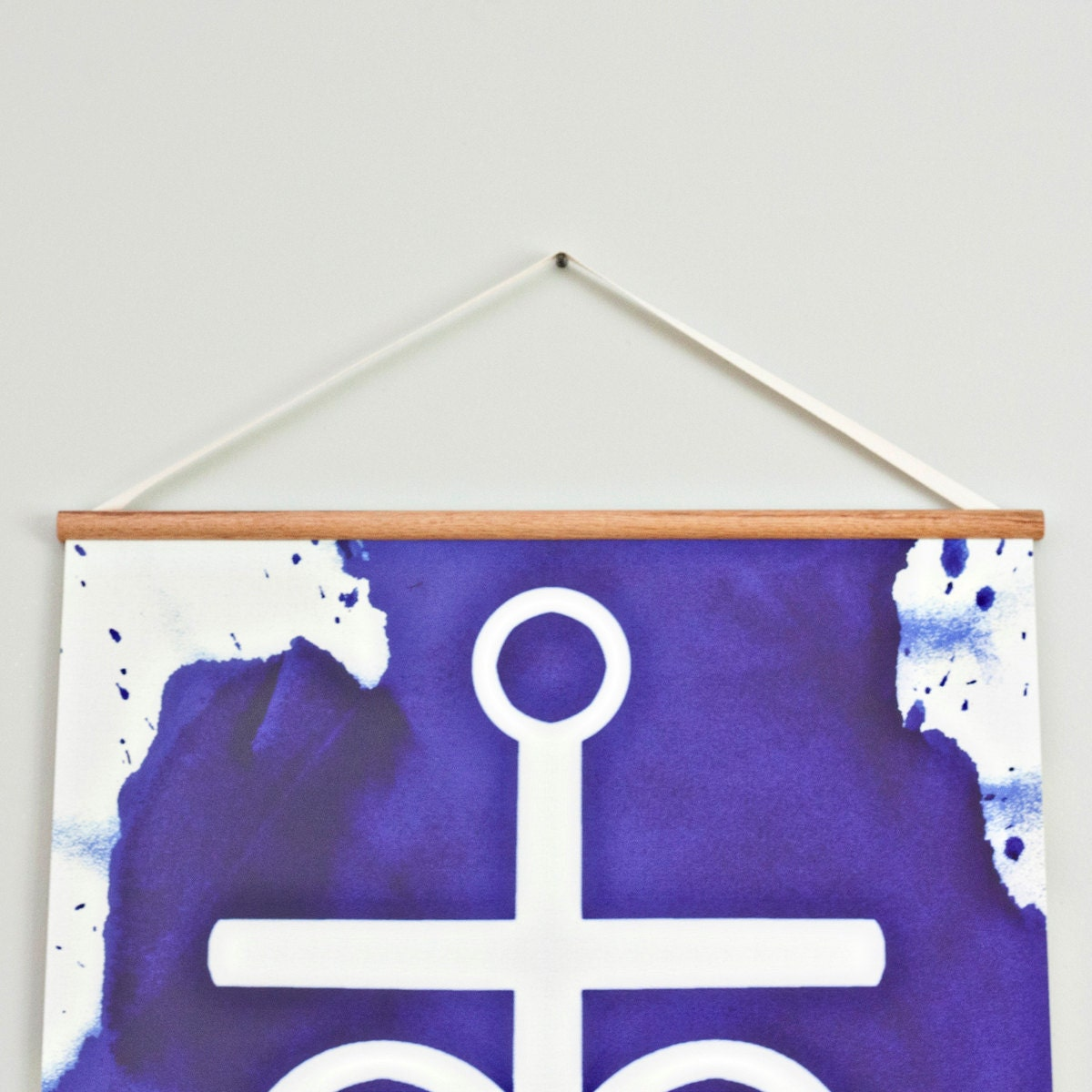 Faith, Hope, Love - Large canvas wall hanging