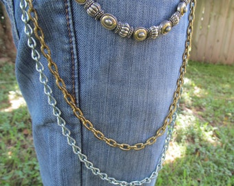 Jean Jewelry Jean Chains Charms  J 12