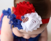 4th of July Headband, Baby Headband, Fourth of July, Girls Headband, 4th of July Headbands