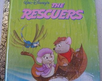 "1977  ""Walt Disney's The Rescuers "" Childrens Book"