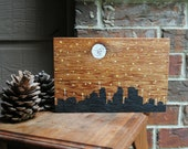 Prayer Art Block on Reclaimed Cedar Wood