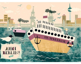 Ahoi Berin-limited Edition art print