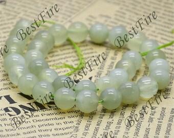 10mm Jade  Round beads Gemstone,Jade loose beads,round Jade bead loose strand 15 inch