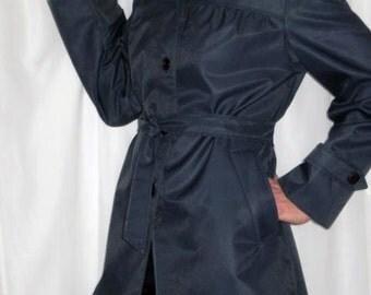 Womens 1970s ViNTaGE Spring /Summer Jacket /NEW by 'Canadian Sportswear'/ Navy Blue ViNTaGe Summer Jacket