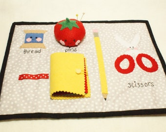 Sewing Rug Sewing Mat Coaster Tomato Pincushion Needlebook