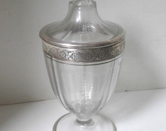 1930s Sterling Compote