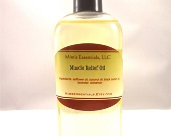 Muscle Relief Body Oil 4 oz