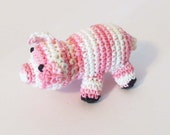 Squeaky Pig Dog Toy - Choose Your Color