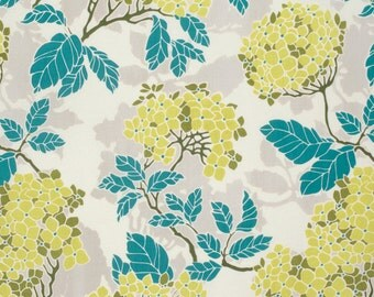 Hydrangea in Sage (pwjd090) - BIRCH FARM by Joel Dewberry - Free Spirit Fabric - By the Yard