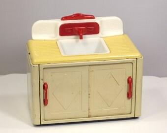 Vintage Fuchs MFZ Toy Kitchen Sink Germany