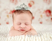Queenie crown, newborn tiara, Baby headband, newborn headband, adult headband, child headband and photography prop QUEENIE tiara
