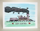 I choo-choo choose you Valentine's Day card