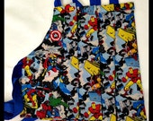 Marvel Superheroes Aprons Set of 4
